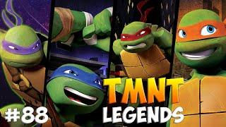 Черепашки-Ниндзя: Легенды. Прохождение #88  FINAL Bosses (TMNT Legends IOS Gameplay 2016