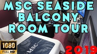 MSC Seaside Exclusive Room Tour 2019!!