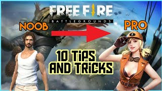 TOP 10 TIPS AND TRICKS || BECOME A PRO || FREE FIRE
