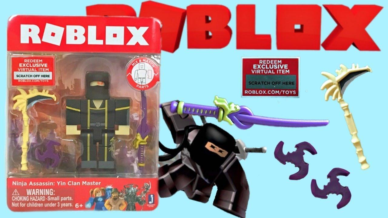 Roblox Toy Ninja Assassin, Series 4, Code Item, Unboxing ...