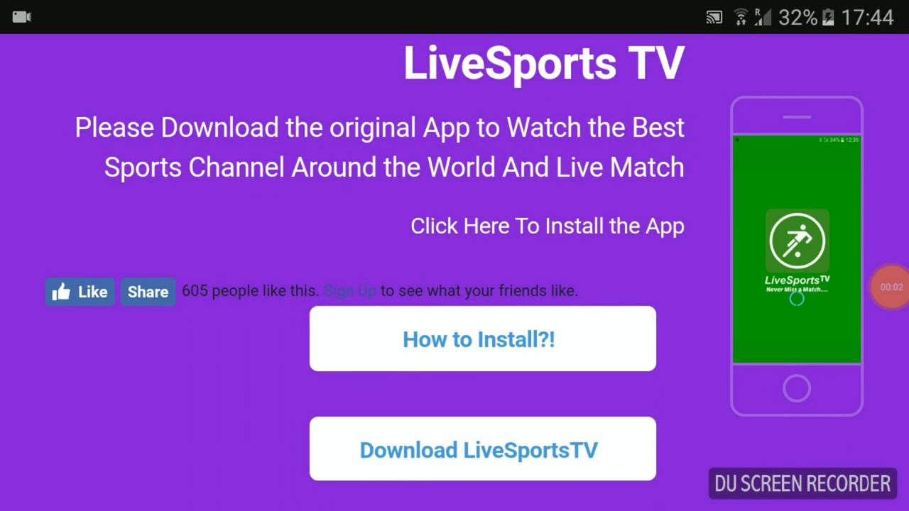 SportsTV - Great Android App for free live Sports and TV!!!!