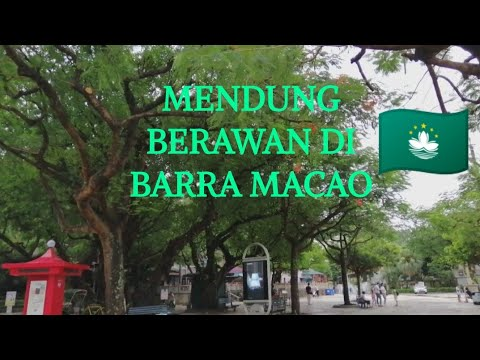 Keindahan Senja Hari di Barra Macao
