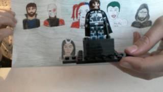 lego custom suicide squad minifigures