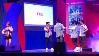 THE CARTOONZ CREW - JATA JATA PIRATI KO BATO & FUNTASTIC ( LIVE  performance)