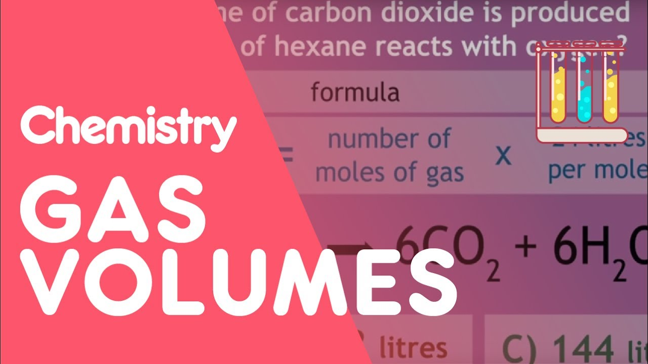 How to find the volume of gas