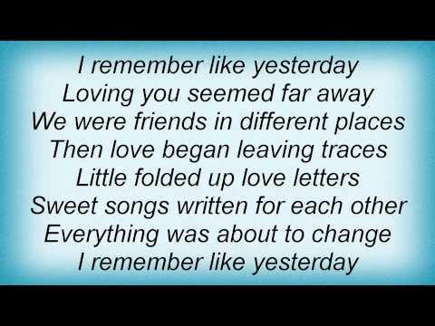 Colbie Caillat - Like Yesterday Lyrics