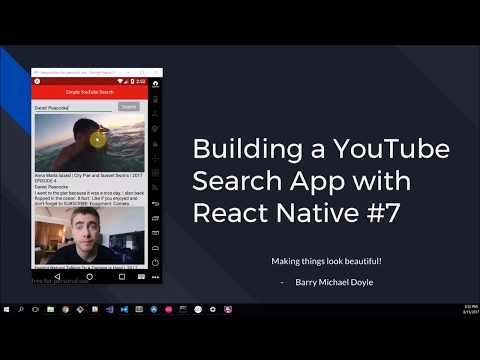 Simple Youtube Search App 7 Making Things Look Pretty Youtube