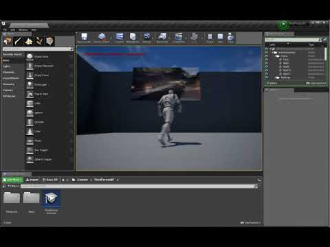 Play a Video File | Unreal Engine Documentation