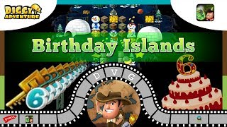 [~6th Birthday~] #9 - Keys + Birthday Islands - Diggy