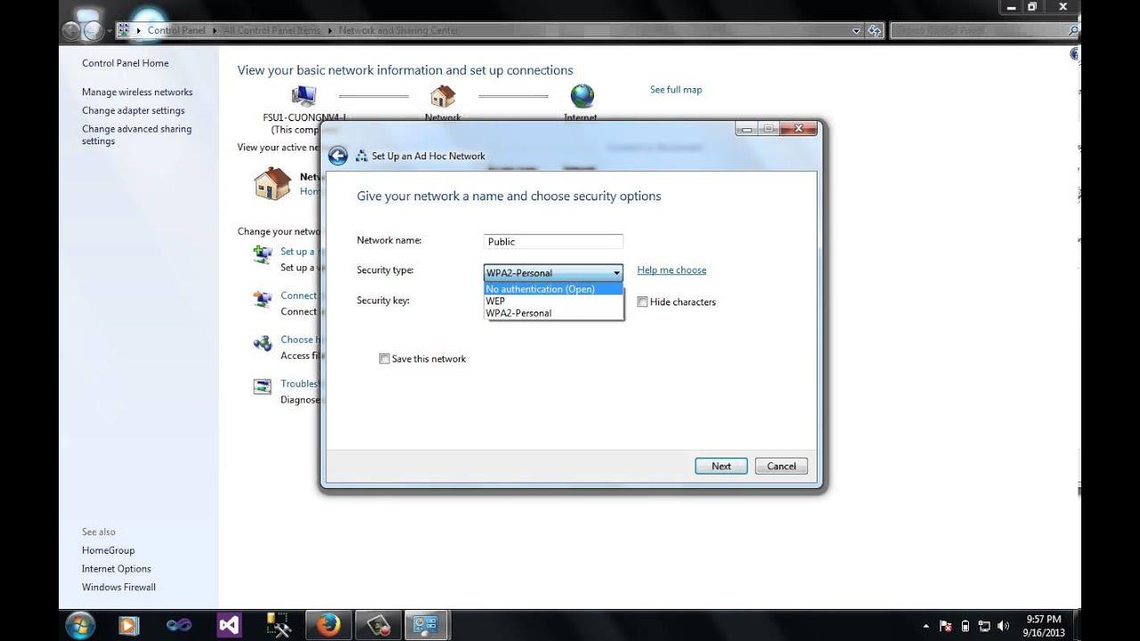 Phát wifi trên win 7 – Hướng dẫn cách phát wifi trên windows 7