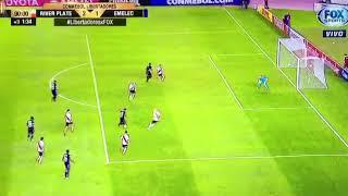 Gol Preciado a River en Argentina