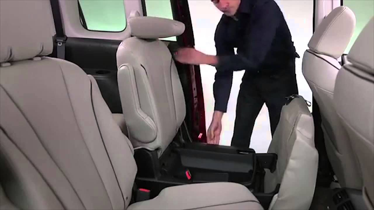 2013 Mazda5 Second And Third Row Seats Tutorial Youtube