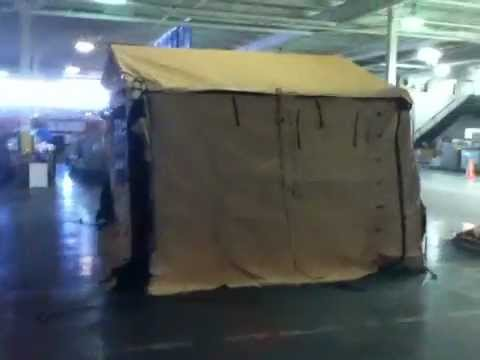 New Desert Tan Military Command Post Tent on GovLiquidation.com