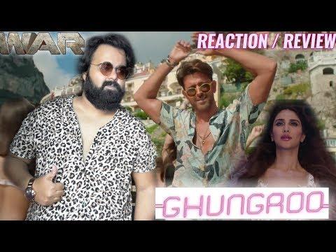 war- -ghungroo-song- -reaction- -review- -hrithik-roshan- -vaani-kapoor- -arijit-singh- -shilpa-rao