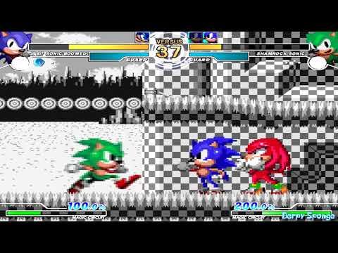 MUGEN 1.1 - A Whole Lotta Sonic