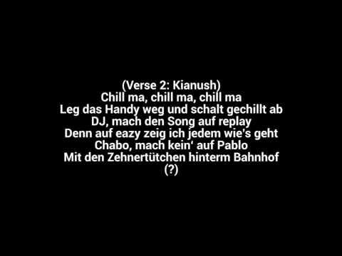 Kianush - Chill mal dein Leben LYRICS