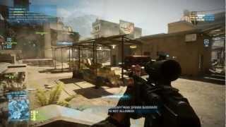 Battlefield 3 - AN-94 gameplay (Max settings, i7 3770K, GTX 680)