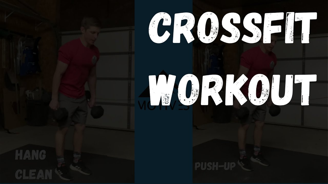 CrossFit Workout | Hang Clean | Push-up