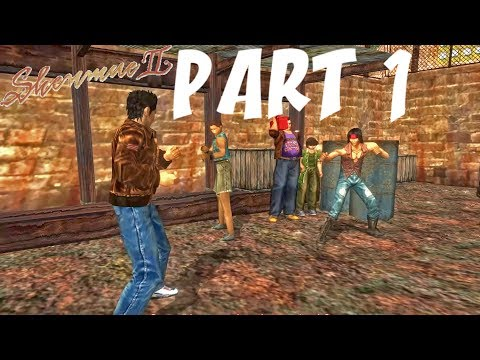 Shenmue 2 Remastered (English) - Gameplay Walkthrough Part 1- No Commentary