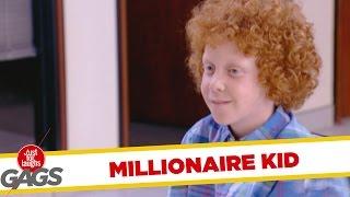 throwback thursday millionaire kid prank