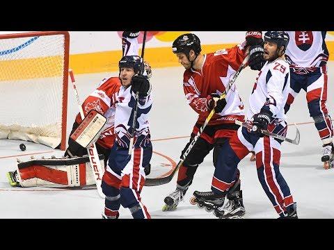 Canada vs. Slovakia - 2017 IIHF Inline Hockey World Championship