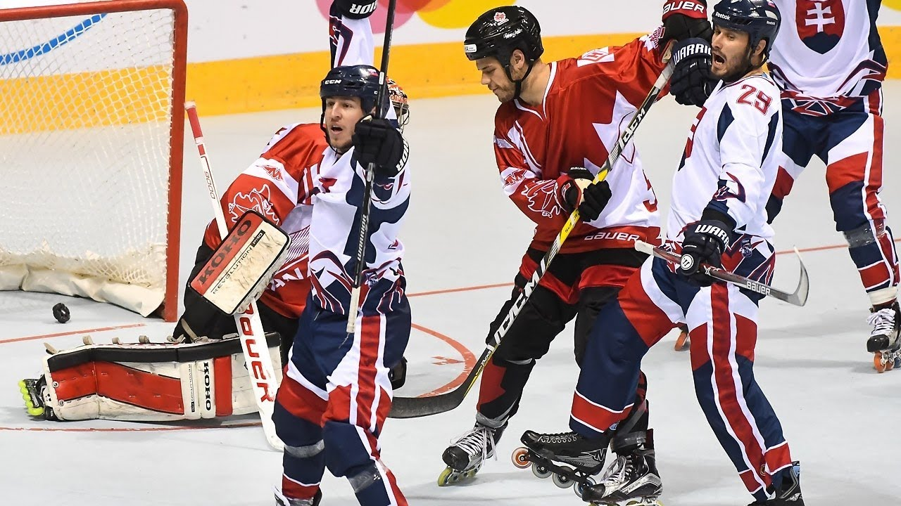 Canada Vs Slovakia 2017 Iihf Inline Hockey World Championship