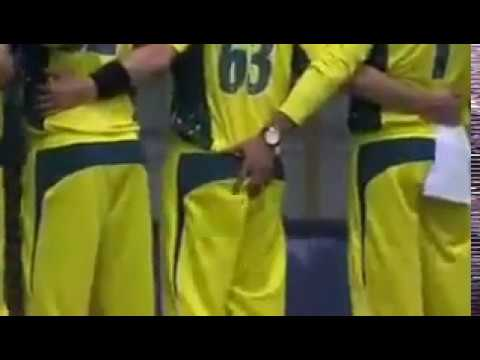 Disgraceful Act By Australian Cricket Player Khawaja In Time Of National Anthem !