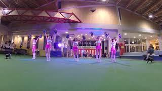 説明 北海道八雲町の『八雲さむいべや祭り』 ファイターズガール ダンス...