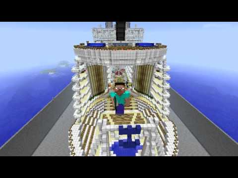 Minecraftoasis Of The Seavasul De Croaziera Youtube