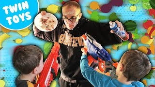 Nerf War:  Food Fight 2