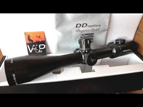 Unboxing a DDoptics Nachtfalke 5-30x50 riflescope