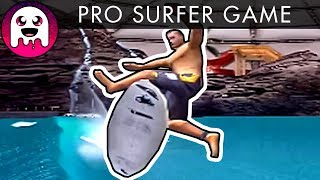 A Surfing Game - With KICKFLIPS!  / Let