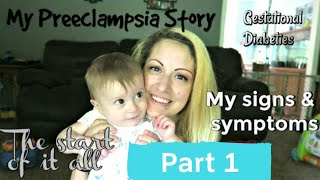 MY PREECLAMPSIA STORY | BEFORE I was diagnosed || The Barker Bunch