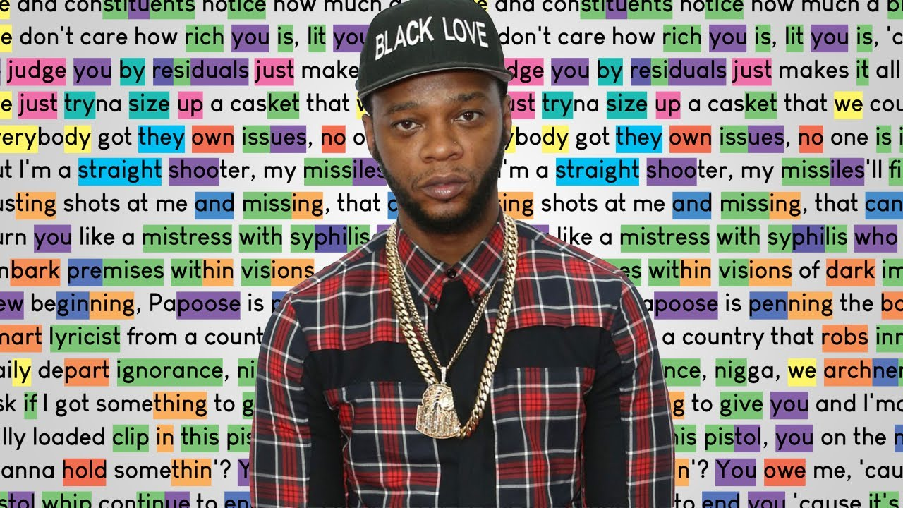 Papoose - S.H.O.O.T.E.R   Rhymes Highlighted