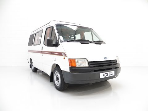 A Retro 4-berth Ford Transit Mk3 Autosleeper 'Frisky' with 68,124 Miles - SOLD!