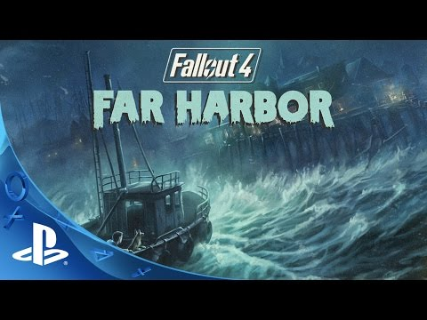 Fallout 4 Far Harbor Official Trailer | PS4