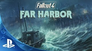Fallout 4 Far Harbor Official Trailer | PS4
