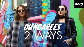 How To Style Dungarees Two Ways | sunbeamsjess + Lexi A-N