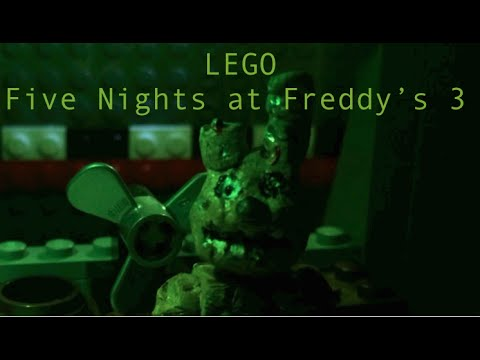 LEGO Five Nights at Freddys 3