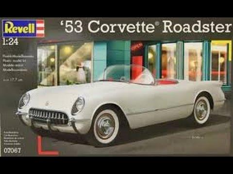Revell 1/24 53 Corvette Roadster part 3