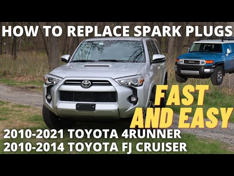 How to replace Spark Plugs on 2010-2021 4Runner and 10-14 FJ Cruiser
