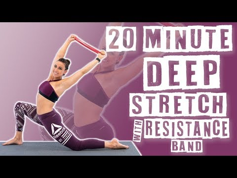 20 Minute Deep Stretch with Resistance Band