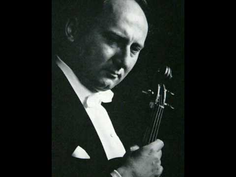 Wolfgang Marschner plays Schumann: Violin Concerto (1957)