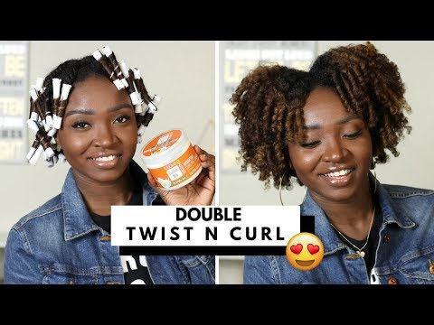 DOUBLE TWIST N CURL | Creme of Nature NEW Coconut Milk Collection