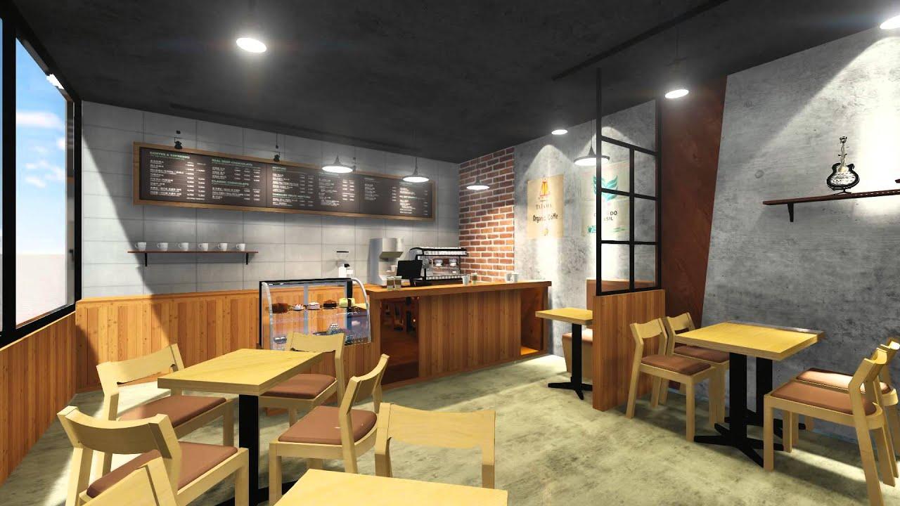 Cafe interior youtube - Interior design cafe milano ...