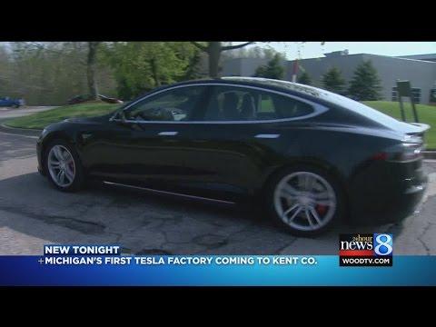 Tesla Motors moving into Kent Co. plant