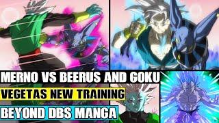 Beyond Dragon Ball Super: The New Angel Merno Vs Beerus And Goku! The Grand Priest Trains Vegeta!