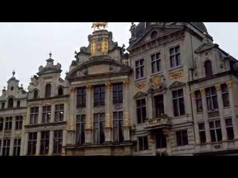Visite de la grande place de Bruxelles