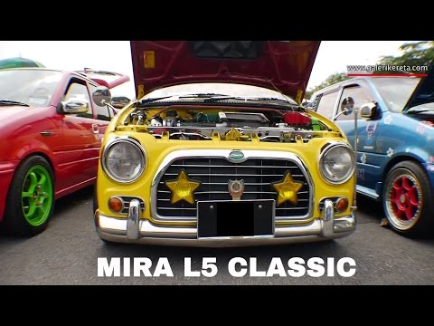Kancil L5 Classic Kuning Modified  Gathering Geng Sunroof GAGES 2016