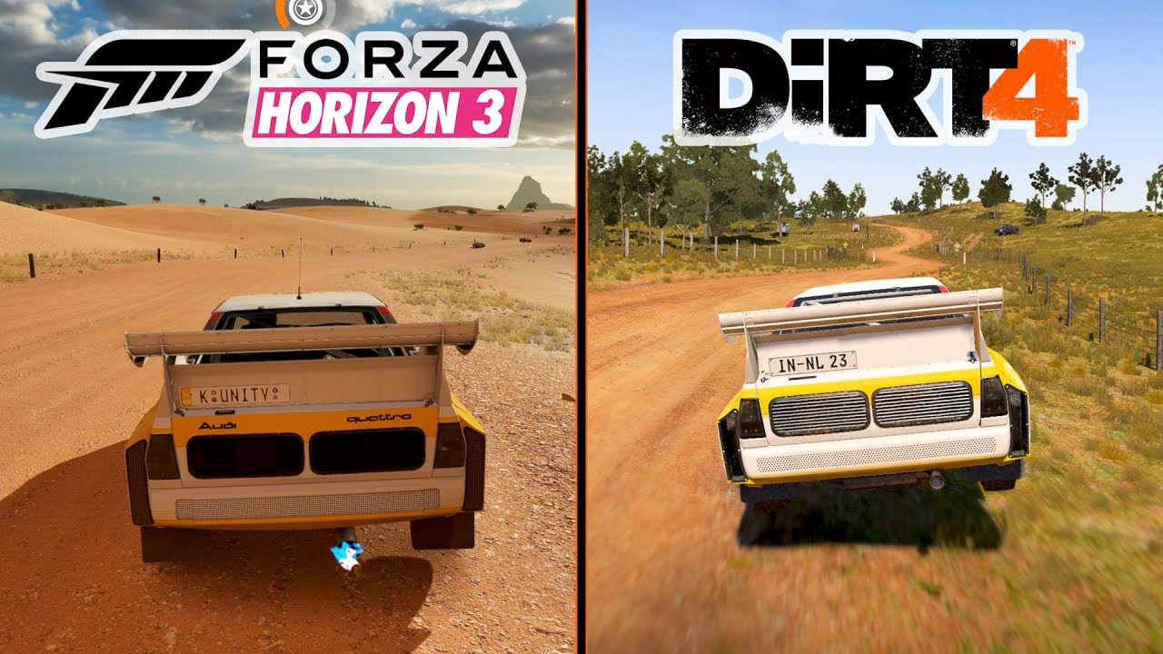 forza horizon 3 vs dirt 4 graphics gameplay comparison pc ultra settings youtube. Black Bedroom Furniture Sets. Home Design Ideas